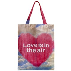 Love Concept Poster Design Zipper Classic Tote Bag by dflcprints