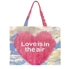 Love Concept Poster Design Zipper Large Tote Bag by dflcprints