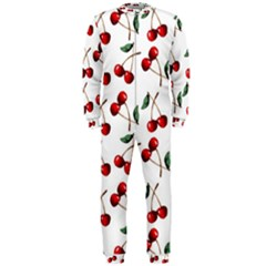 Cherry Red Onepiece Jumpsuit (men)  by Kathrinlegg