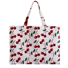 Cherry Red Medium Tote Bag by Kathrinlegg