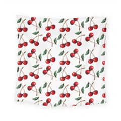 Cherry Red Square Tapestry (small) by Kathrinlegg
