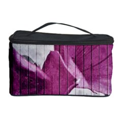 Vintage Style Flower Photo Cosmetic Storage Case by dflcprints