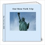 New York Vacation - 8x8 Photo Book (20 pages)