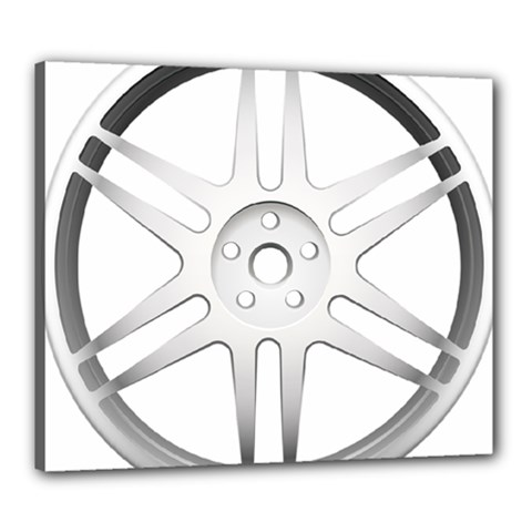 Wheel Skin Cover Canvas 24  X 20