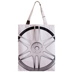 Wheel Skin Cover Zipper Classic Tote Bag
