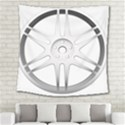 Wheel Skin Cover Square Tapestry (Large) View2
