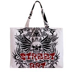 Tattoo Tribal Street Art Zipper Mini Tote Bag by Valentinaart