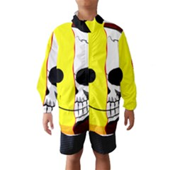 Skull Behind Your Smile Wind Breaker (kids)