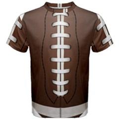 Football Ball Men s Cotton Tee