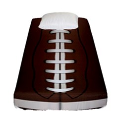Football Ball Fitted Sheet (single Size) by BangZart