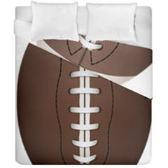 Football Ball Duvet Cover Double Side (california King Size)