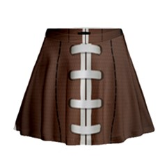 Football Ball Mini Flare Skirt