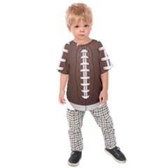 Football Ball Kids Raglan Tee