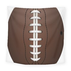 Football Ball Square Tapestry (large)