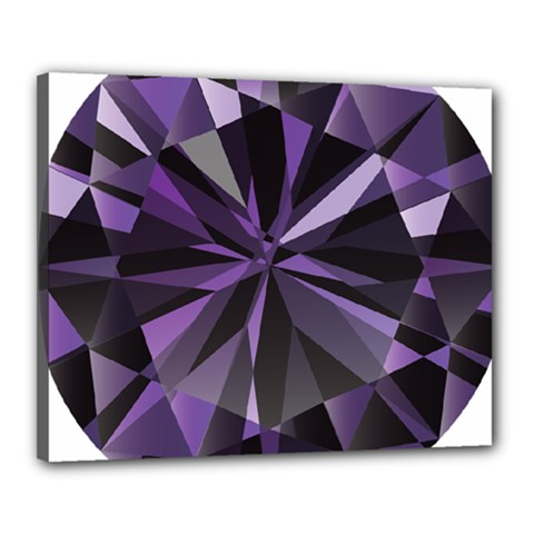 Amethyst Canvas 20  X 16