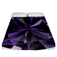 Amethyst Fitted Sheet (california King Size)