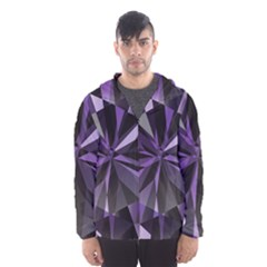 Amethyst Hooded Wind Breaker (men)