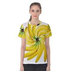 Bananas Decoration Women s Cotton Tee