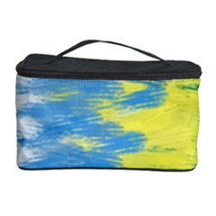 Brazil Colors Pattern Cosmetic Storage Case by paulaoliveiradesign