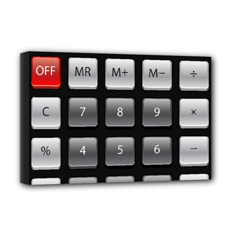 Calculator Deluxe Canvas 18  X 12   by BangZart