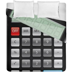 Calculator Duvet Cover Double Side (california King Size)