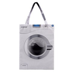 White Washing Machine Classic Tote Bag