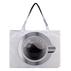 White Washing Machine Medium Tote Bag by BangZart