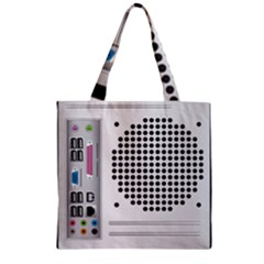 Standard Computer Case Back Zipper Grocery Tote Bag by BangZart