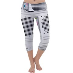 Standard Computer Case Back Capri Yoga Leggings