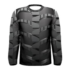 Tire Men s Long Sleeve Tee by BangZart