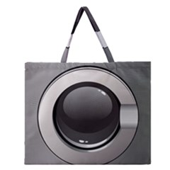 Washing Machine Zipper Large Tote Bag by BangZart
