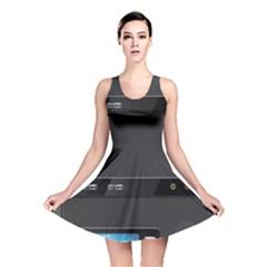 Standard Computer Case Front Reversible Skater Dress
