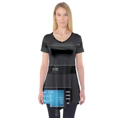 Standard Computer Case Front Short Sleeve Tunic
