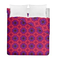 Retro Abstract Boho Unique Duvet Cover Double Side (full/ Double Size)
