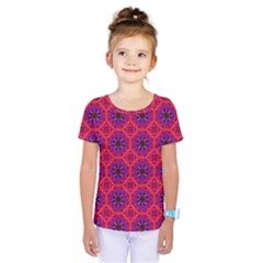 Retro Abstract Boho Unique Kids  One Piece Tee