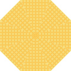 Yellow Pattern Background Texture Folding Umbrellas