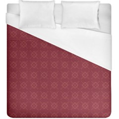 Purple Pattern Background Texture Duvet Cover (king Size)