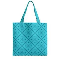 Pattern Background Texture Zipper Grocery Tote Bag by BangZart