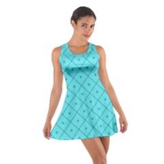 Pattern Background Texture Cotton Racerback Dress