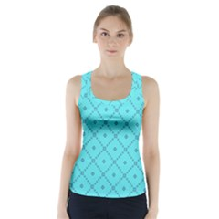 Pattern Background Texture Racer Back Sports Top