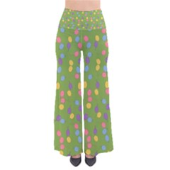 Balloon Grass Party Green Purple Pants by BangZart
