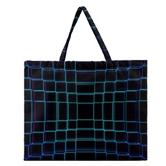 Abstract Adobe Photoshop Background Beautiful Zipper Large Tote Bag by BangZart