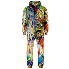 Multicolor Anime Colors Colorful Hooded Jumpsuit (men)  by BangZart