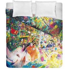 Multicolor Anime Colors Colorful Duvet Cover Double Side (california King Size) by BangZart