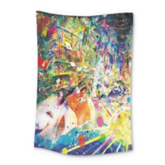 Multicolor Anime Colors Colorful Small Tapestry