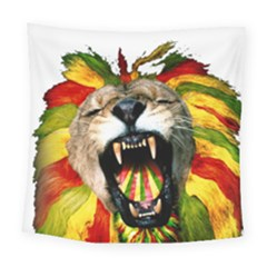 Reggae Lion Square Tapestry (large) by BangZart