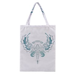 Angel Tribal Art Classic Tote Bag by BangZart