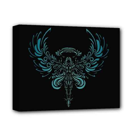 Angel Tribal Art Deluxe Canvas 14  X 11  by BangZart