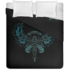Angel Tribal Art Duvet Cover Double Side (california King Size) by BangZart