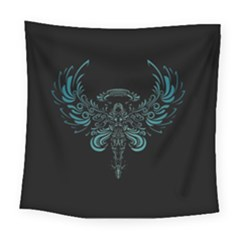 Angel Tribal Art Square Tapestry (large) by BangZart